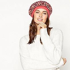 Faith - Multicoloured Fair Isle knitted hat
