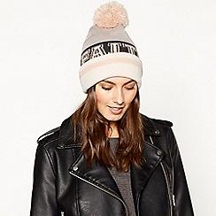 Faith - Grey 'Varsity' Hat