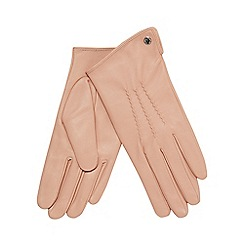 J by Jasper Conran - Light pink 3 point leather gloves