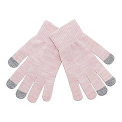 Mantaray - Pink 'Magic' touchscreen gloves