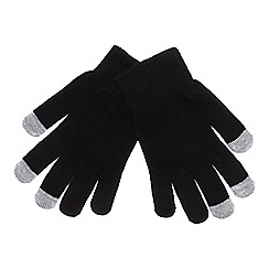 Mantaray - Black 'Magic' touchscreen gloves