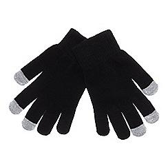 Mantaray - Black 'Magic' touchscreen gloves
