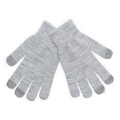 Mantaray - Grey 'Magic' touchscreen gloves
