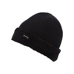 Mantaray - Girls' black fleece hat