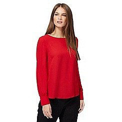 The Collection - Red chiffon top