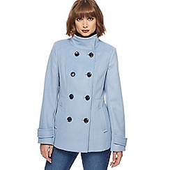 The Collection - Pale blue reefer jacket