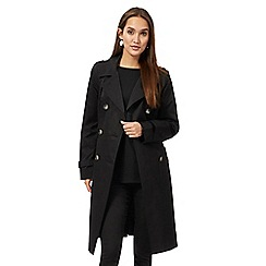 The Collection - Black trench mac coat