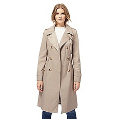 The Collection - Taupe trench mac coat