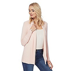 The Collection - Pink shawl collar cardigan
