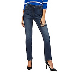 The Collection - Blue mid wash straight leg jeans