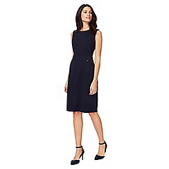 The Collection - Navy knee length shift dress
