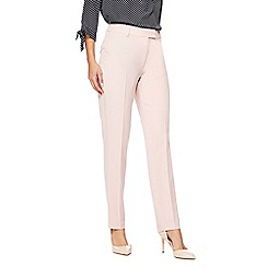 The Collection - Light pink slim leg trousers