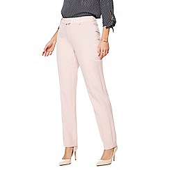 The Collection - Pale pink slim leg trousers