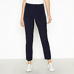 The Collection - Navy slim leg trousers