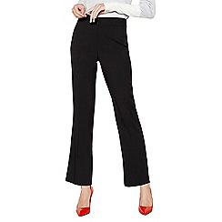 The Collection - Black straight leg suit trousers