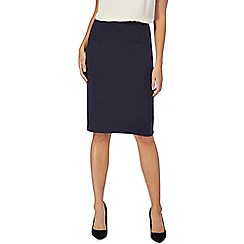 The Collection - Navy ponte skirt