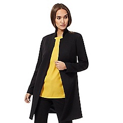 The Collection - Black workwear manteau coat