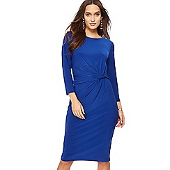 The Collection - Blue knee length dress