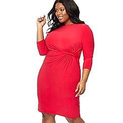 The Collection - Pink knee length dress