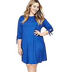 The Collection - Blue jersey plus size mini dress