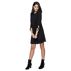 The Collection - Black jersey mini dress
