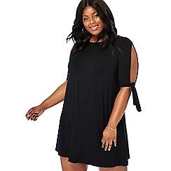 The Collection - Black mini plus size dress
