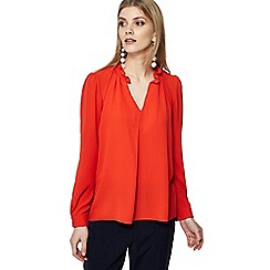 The Collection - Red long sleeve blouse
