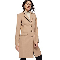 The Collection - Camel smart city coat