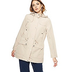 The Collection - Beige hooded mac