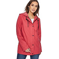 The Collection - Pink shower resistant coat