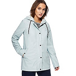 The Collection - Pale green shower resistant coat