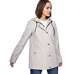 The Collection - Grey shower resistant coat