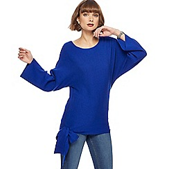 The Collection - Blue side tie jumper