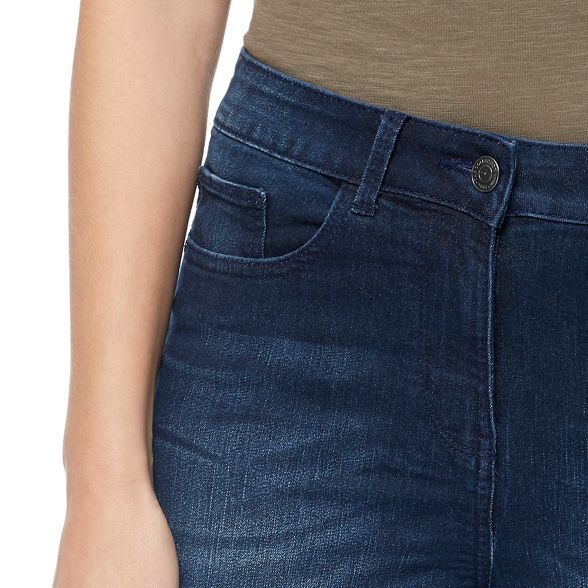 blue cropped The Dark jeggings Collection Ew840qR