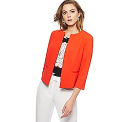 The Collection - Orange textured jacket