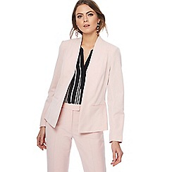 The Collection - Pale pink edge to edge jacket