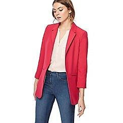 The Collection - Bright pink boyfriend jacket