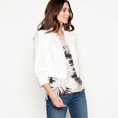a8c71d63ed6 The Collection Ivory 3 4 sleeve bolero jacket