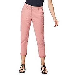 The Collection - Light pink tapered chinos