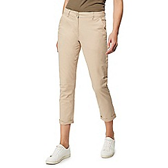 The Collection - Beige tapered chinos