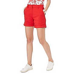 The Collection - Red chino shorts