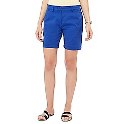 The Collection - Bright blue chino shorts