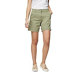 The Collection - Khaki chino shorts