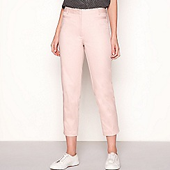 The Collection - Pink slim fit sateen trousers