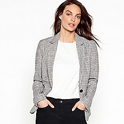 The Collection - Grey linen tailored formal blazer