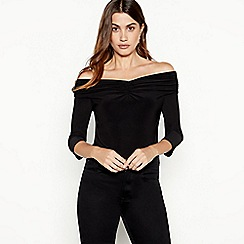 641002b34c4425 Plus-size - Cold shoulder   bardot - Tops - Women