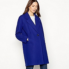 The Collection - Blue single breasted coat