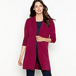 The Collection - Wine long sleeve cardigan