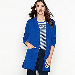 The Collection - Bright blue long sleeve cardigan