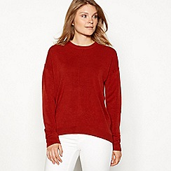 The Collection - Dark tan supersoft jumper